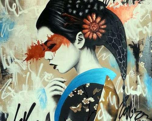Asian Mural